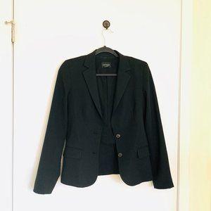 Club Monaco Black Wool Blazer, Size 2